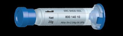 SRC Sn62U SDL  Flux 15%  5cc, 20g, Kartusche/ Syringe