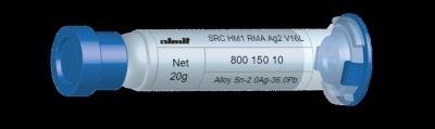 SRC HM1 RMA Ag2 V16L  Flux 12%  5cc, 20g, Kartusche/ Syringe