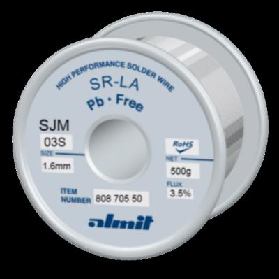 SR-LA SJM-03-S 3,5%  1,6mm  0,5kg Spule/ Reel