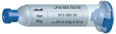 LFM-48X SSI-M 14%  (25-45µ)  30cc, 80g, Kartusche/ Syringe