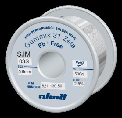 GUMMIX 21Zeta SJM-03-S 2,5%  0,5mm  0,5kg Spule/ Reel