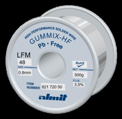 GUMMIX-HF LFM-48  Flux 3,5%  0,8mm  0,5kg Spule/ Reel