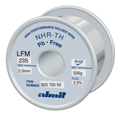 NHR-TH LFM-23-S 3,5% Flux 3,5%  2,0mm 0,5kg Spule/ Reel