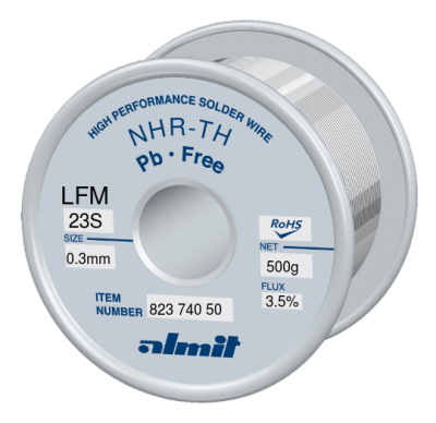 NHR-TH LFM-23-S 3,5% Flux 3,5% 0,3mm 0,5kg Spule/ Reel