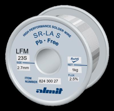 SR-LA SUPER LFM-23-S Flux 2,5%  2,7mm 1,0kg Spule/ Reel