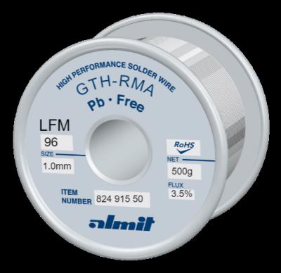 GTH-RMA LFM-96 3,5% Flux 3,5%  1,0mm 0,5kg Spule/ Reel